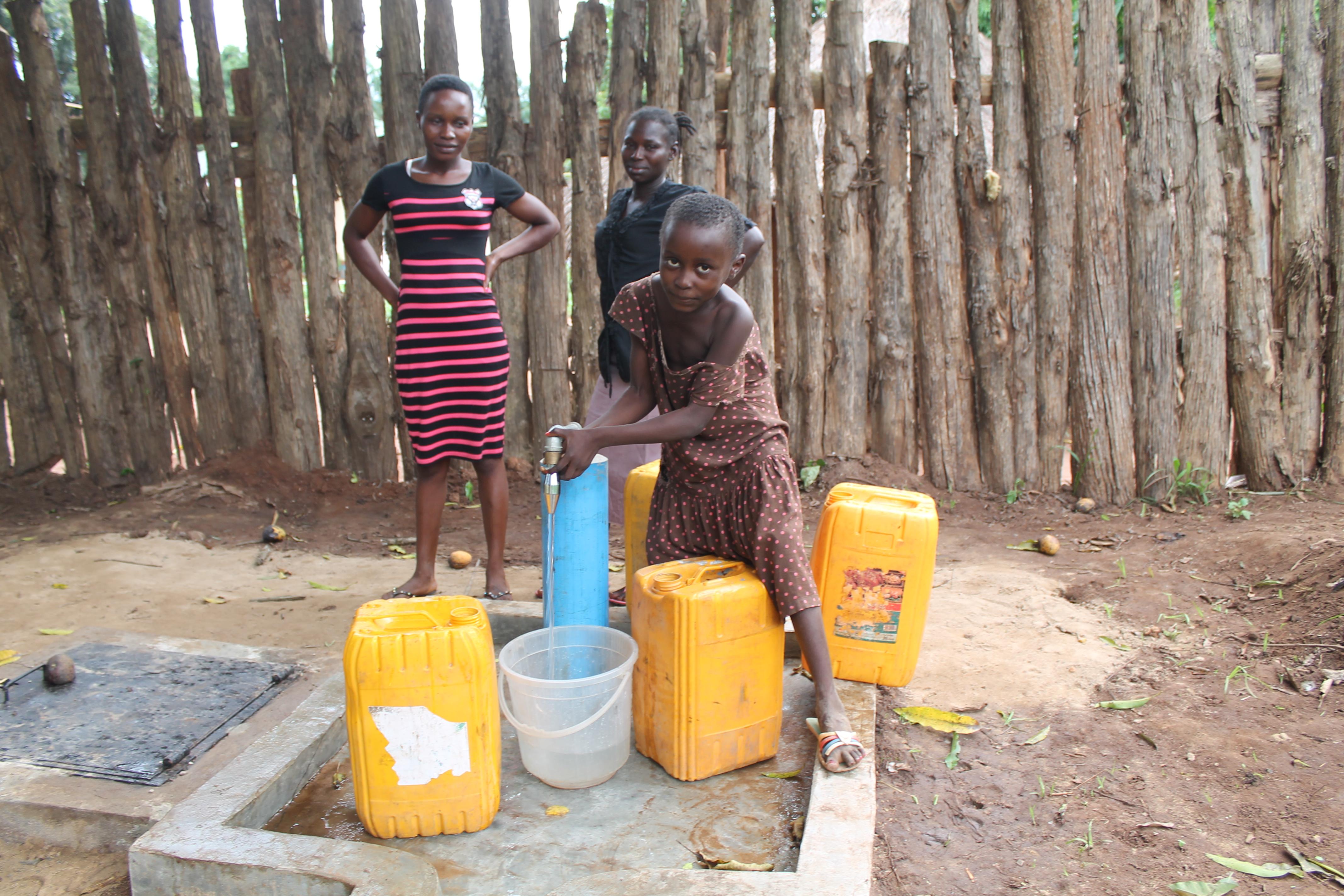 Nzara Water Distribution Point